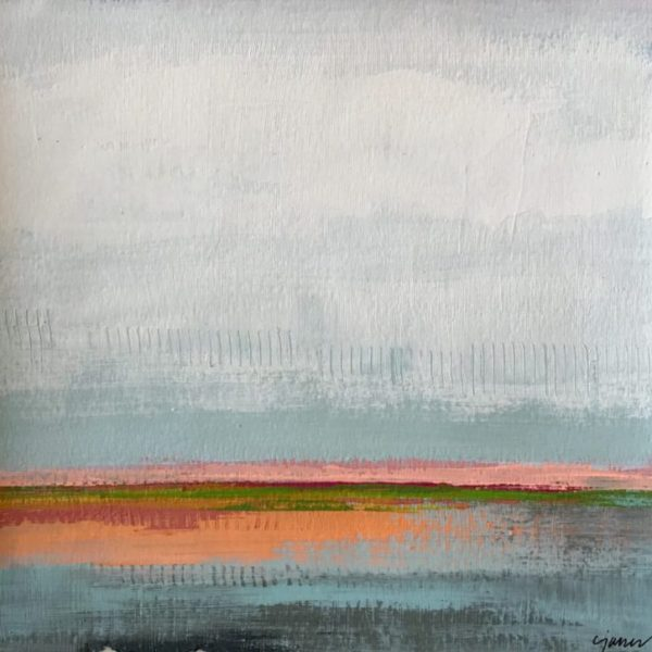 Waterview, 9x9, 23x23 framed
