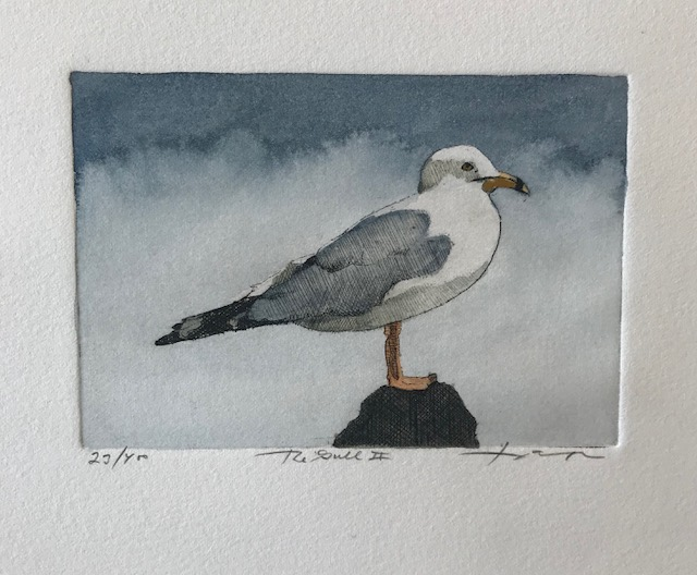 The Gull II, 4 1/2 x 3 1/2