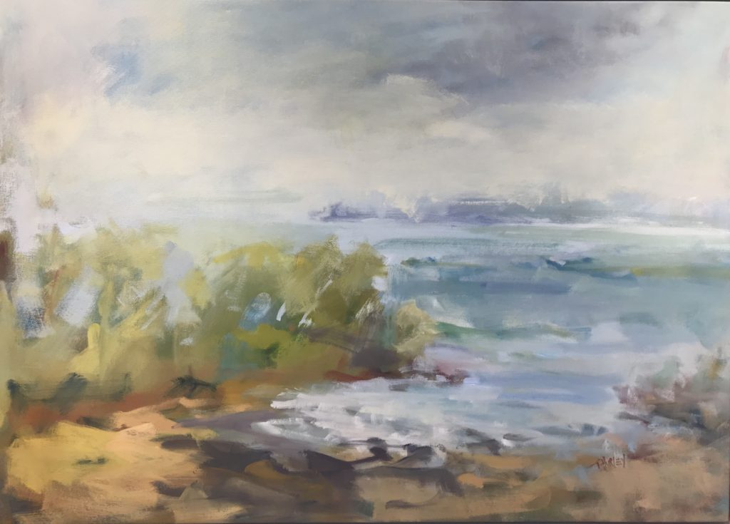 At The Cove, 35x48 framed